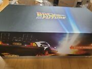 Hot Toys Back To The Future Delorean Time Machine 1/6 Scale - Mms260
