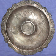 Antique Victorian Silver Plated Serving Plate Platter