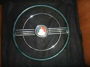 Rare 1953 Buick Golden Anniversary Steering Wheel, Horn Ring, And Horn Button