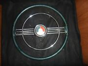 Rare 1953 Buick Golden Anniversary Steering Wheel Horn Ring And Horn Button