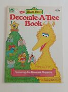 Vtg Golden Christmas Decorate A Tree Books Sesame Street And Winnie The Pooh