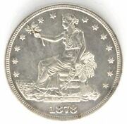 1878 S Us Liberty Seated Trade Dollar Silver United States Coin .900 Fine Silver