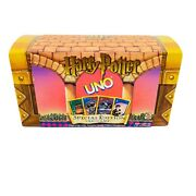 Harry Potter Uno Special Edition Card Game Trunk Excellent Cond.-vintage 2000