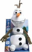 Disney Frozen Olaf The Snowman Pull-me-apart Talking Plush 15 Inches New