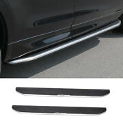 For Discovery Sport 2020-2021 Black Side Step Running Board Nerf Bar Protect 2pc