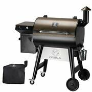 7002f 2021 Upgrade Wood Pellet Grill And Smoker For Outdoor Cooking, 8 In 1 Bbq