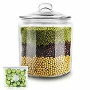 Glass Jar With Fresh Sealed Lid 1 Gallon Glass Storage Container Jars Used To