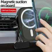 Charger Car Mount Mag Safe For Iphone 12/12pro/12 Mini/pro Max Wireless Magnetic