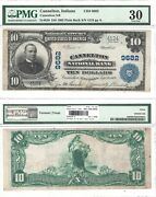 1902 10 Cannelton National Bank In 9682 Pmg Very Fine-30