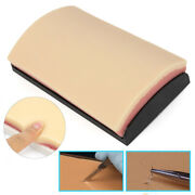 13in Suture Practice Kit Medical Pad Human Skin Training Teach Models W/ 3 Layer