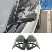 For Discovery Sport 15-21 Ox Horn Carbon Fiber Rearview Side Door Mirror Replace