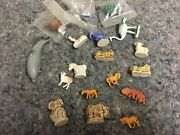 Lot Of Assorted Animals-wade Whimsies-plastic-nice Mix