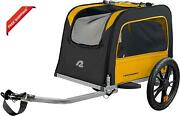 Retrospec Rover Wagginand039 Pet Bike Trailer - Small Medium Sized Dogs Bicycle Car