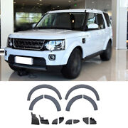 For Land Rover Discovery 4 2010-2016 Primed Wheel Eyebrow Arch Trim Cover Fender