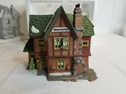 Department 56 Dickensand039 Village 1994 Browning Cottage Lighted Christmas House