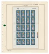 Filabo Stamp Pages Europe Minihojitas 1960-1985 Mounted With Protectors