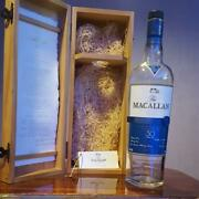 Macallan 30 Years Empty Bottle The Macallan With Wooden Box Vintage Rare From Jp
