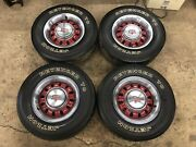 1969 69 Ford Mustang Torino Gt 14x6 Styled Steel Wheels + F70-14 Tires Set Of 4