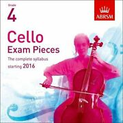 Cello Exam Pieces 2016 Cd, Abrsm Grade 4 The Complete Syll... By Divers Auteurs