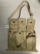 Us Military 6 Mag Molle Ii Bandoleer Ammo Pouch 3-color Desert Camo Dcu