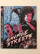 Savage Streets Slipcover Only Code Red Movie Not Included