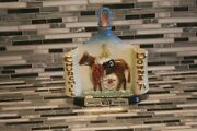 1971 Jim Beam Empty 97th Kentucky Derby Run For The Roses Decanter Bottle