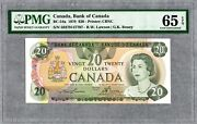 1979 Bank Of Canada 20 Banknote, Pmg Unc-65 Epq