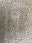 Vintage Pyrex 212 Clear Glass Casserole Bread Loaf Dish - As Is