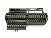Ge/fanuc In/out Barrier Style Terminal Base W/ Aux Terminal Strip Ic670chs001h