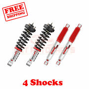 Kit Of 4 Rancho Front And Rear Strut And Rs9000xl Shocks For Ford F-150 09-13