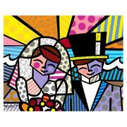 Britto Honeymoon At Sea Hand Signed Limited Edition