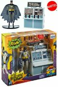 Mattel Dc 1966 Batman Tv Series To The Batcave Figure Playset New And In Stock
