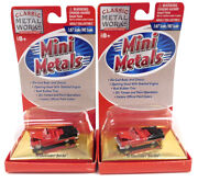 Used Lot Of 2 Classic Metal Works 30106 And03955 Chevrolet Bel Air 187 Scale Ne...