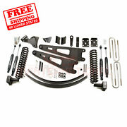 Zone 6 Front And Rear Radius Arm Suspension Lift Kit For Ford F350 4wd 2008-10