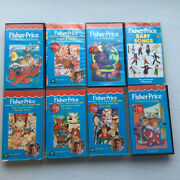 Fisher Price Bundle 8 Videos Vhs Baby Songs Red Riding Hansel 1980s Vintage Rare