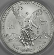 1993 Mexican Libertad 1oz Bu In Capsule Bright And Nice - Bulk Pricing