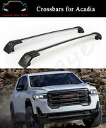 Fits For Gmc Acadia 2017-2022 Crossbar Cross Bar Roof Rack Rail Baggage Carrier
