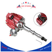 Red Hei Distributor W/ 65k Coil For 1967-1990 Amc Jeep 343,290,304,360,390 And 401
