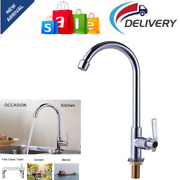 Single Handle High Arc Outdoor Sink Faucet For Boat Camper Stainless Steel 360anddeg