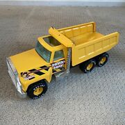Vintage Ford Nylint Hard Hat Contractors Dump Truck Pressed Steel Rare 16