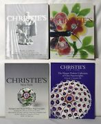 Christie's Lot 4 Antique And Modern Glass Paperweights Auction Catalogs 2031