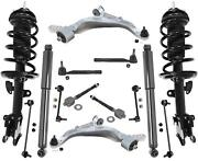 Front Struts Rear Shocks Control Arms Tie Rods And Links Fits 07-13 Acura Mdx