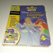 New Leapfrog My First Leap Pad - Disney Princess Counting Tales Book And Cartridge