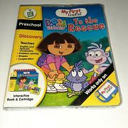 New Leapfrog My First Leap Pad - Dora To The Rescue Interactive Book And Cartridge