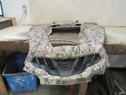 2014 Can-am Commander Xt 800 Fixed Hood Camo Front Panel Grill Stock Oem 0539