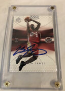 2004 Upper Deck Sp Authentic Lebron James Autograph 2nd Year Card With Coa🔥📈