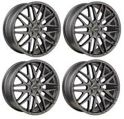 4 Alloy Wheels Oxigin 25 Oxcross 9x20 Et38 5x114 Titan For Ford Mustang