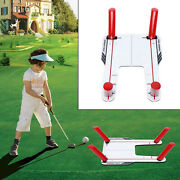 Golf Speed Training Trap Base 4 Rods Swing Hitting Chip And Pitching Practice Tool