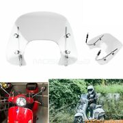 Motorcycle Windshield Accessories For Vespa Sprint 150 All Years Fly Screen Kit