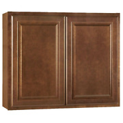 Hampton Bay Assembled Kitchen Cabinet 3/4 In. Thick Adjustable Shelves Stained